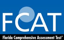 logo officiel fcat en Floride, test en école primaire
