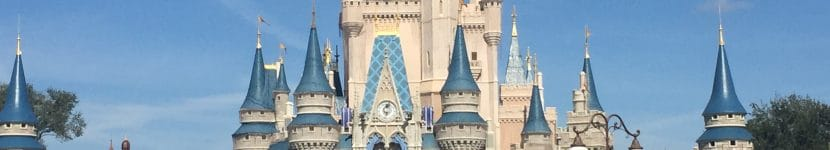 Le château de Cendrillon au Magic Kingdom en FLoride