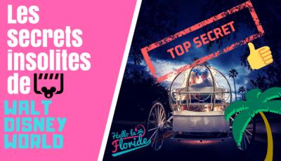 découvrez les secrets insolites de Disney en Floride avec hello la floride