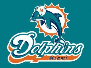 logo de l'equipe de football americain des miami dolphins