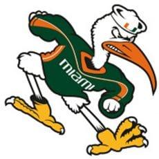 logo equipe universitaire football americain les hurricanes