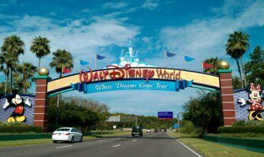 Entrée de Walt Disney World en Floride