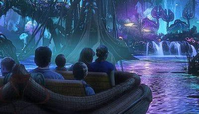Parc Avatar Land à Orlando en Floride