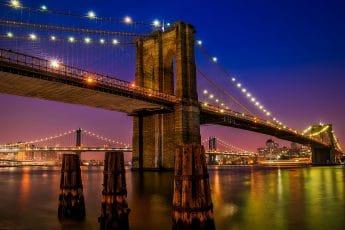 Pont de Brooklyn à New-York