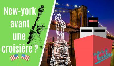 croisière à New York voyage aux USA