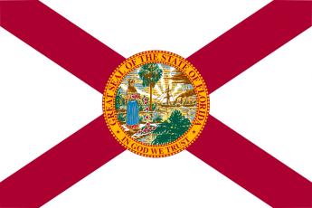 drapeau de l'etat de Floride