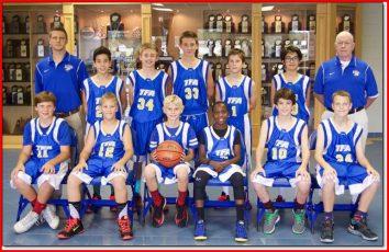equipe de basket du college discovery a orlando en floride