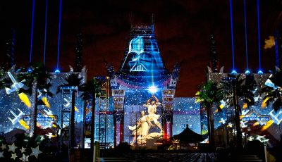 Feux artifices Star Wars au Disney Hollywood Studios en Floride