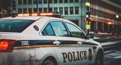 voiture de police américaine
