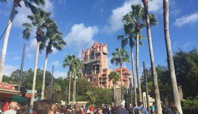 la tour de la terreur a disney en Floride