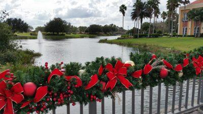 une décoration de noel pour la Floride
