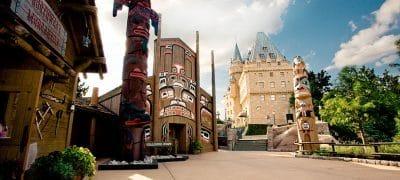 Pavillon canadien à Epcot