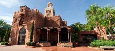 pavillon Marocain à Epcot en Floride