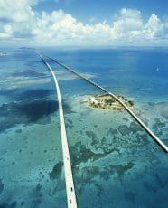 Le pont des 7 miles dans les Keys de Floride