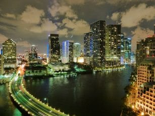 le centre ville de Miami