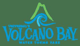 logo du parc aquatique volcano bay a orlando
