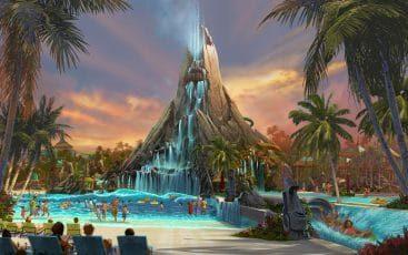 volcano bay parc aquatique à Disney en Floride