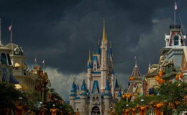 Walt Disney World pendant une tempête tropicale en Floride