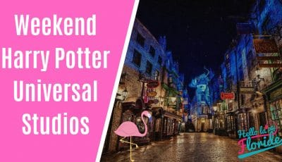 weekend harry potter à Universal Studios orlando