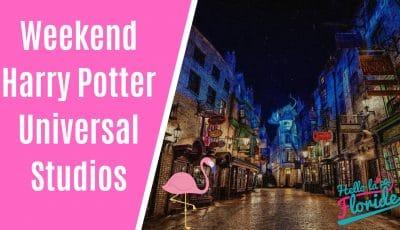 weekend harry potter à Universal Studios orlando